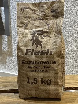 Anzündwolle 1,5 kg im Papierbeutel