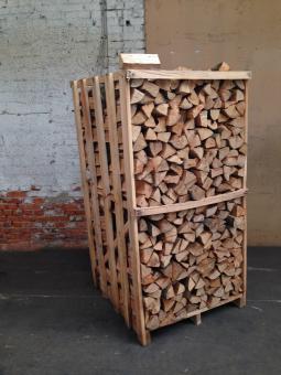 Kaminholz Buche in ca.3 SRM Box 25cm Scheite